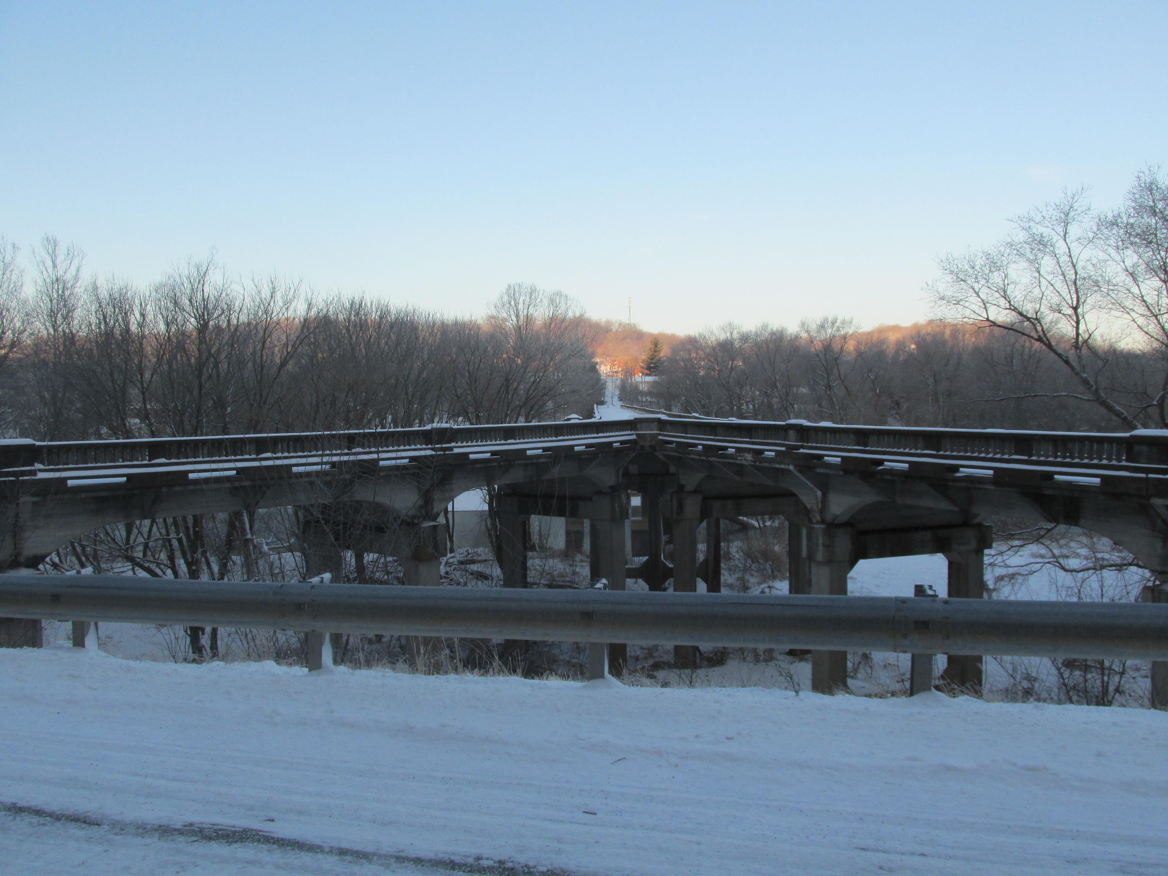 Winter Y-Bridge